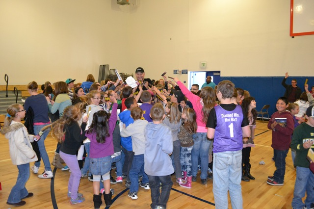 Author visits to schools